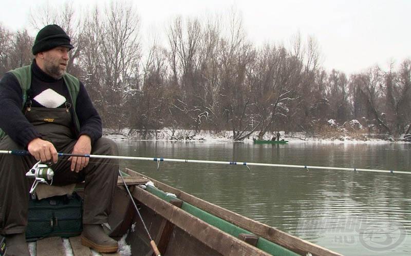 Az a jó horgász, aki még télen sem adja fel