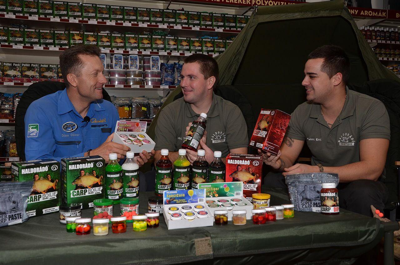 2014-től új, komplett termékcsaládokat kínálnak a Haldorádó Carp Boilie termékek