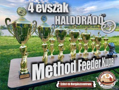 4 évszak Haldorádó Method Feeder Kupa 2021 versenysorozat kiírás