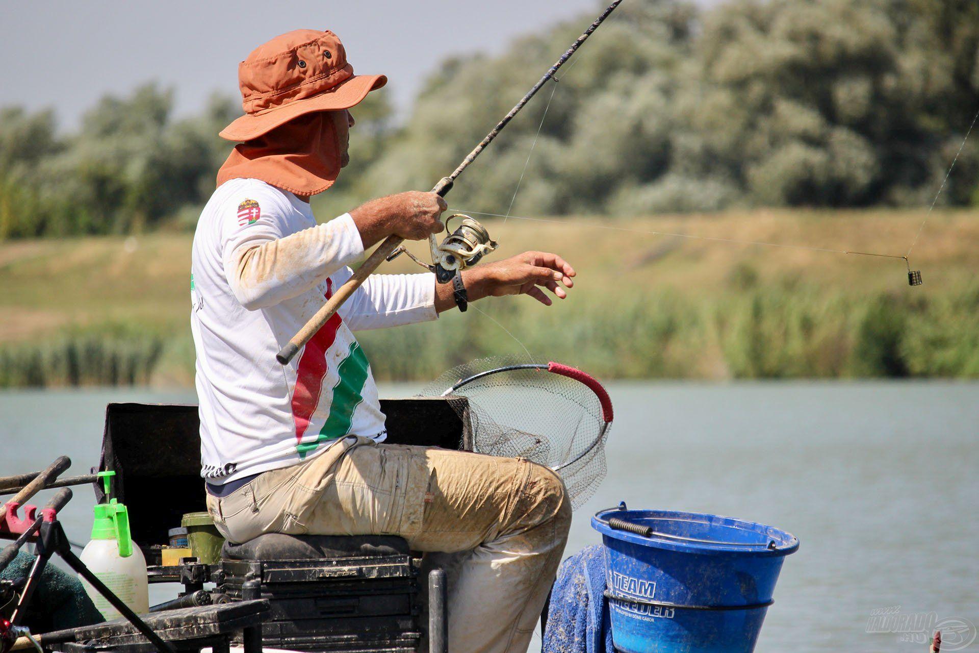 Körülményessé tette a pörgős horgászatot az akár 1,5 méter hosszú horogelőke, amellyel nagyon nehéz bánni (fotó: MOHOSZ)