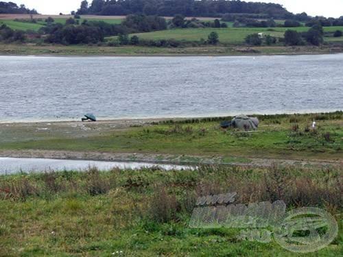 A tópart áradás előtt...