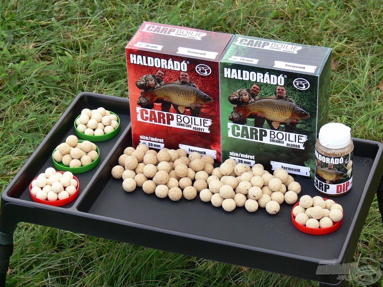 Valamennyi Carp Boilie dobozos bojlit, illetve különleges csalizó bojlit ezen a 3 napon lehet először megvásárolni