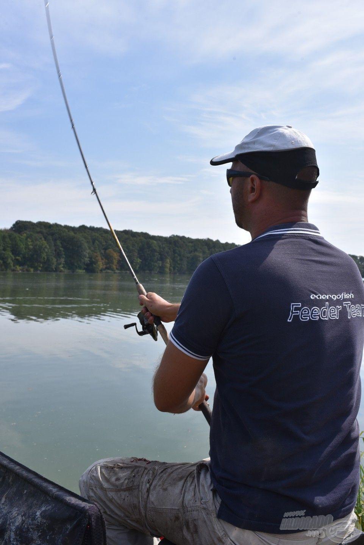Mára már a feederbotos horgászatban is teret hódított a fonott zsinór