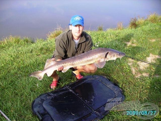 Szaszkó Tamás 10 kilós hala