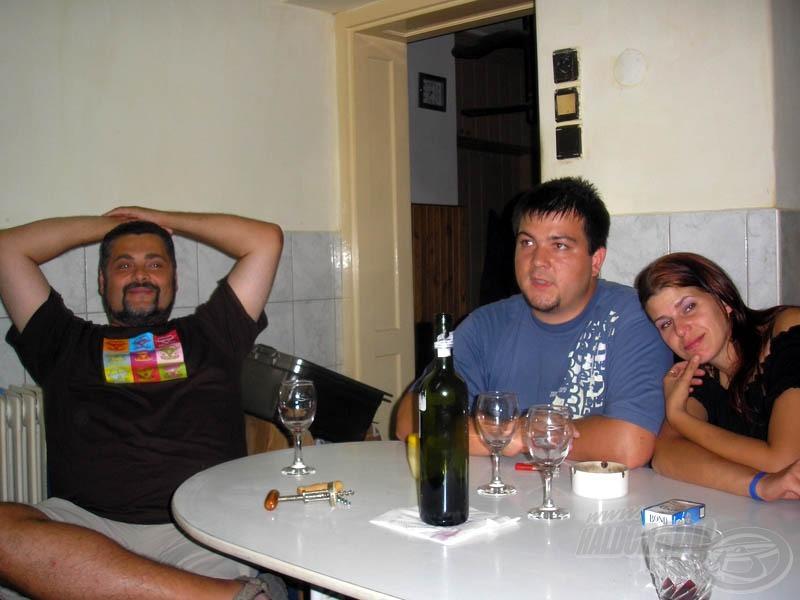 Vacsora után