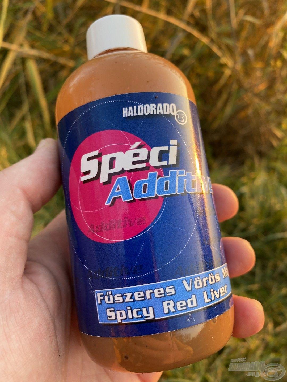 A Fűszeres Vörös Máj SpéciAdditive tökéletesen passzol az összetevőkhöz