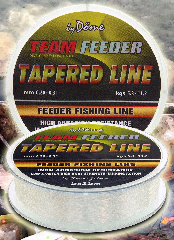 A By Döme TF Tapered Leader a legjobb választás, ha monofil dobóelőkére van szükség