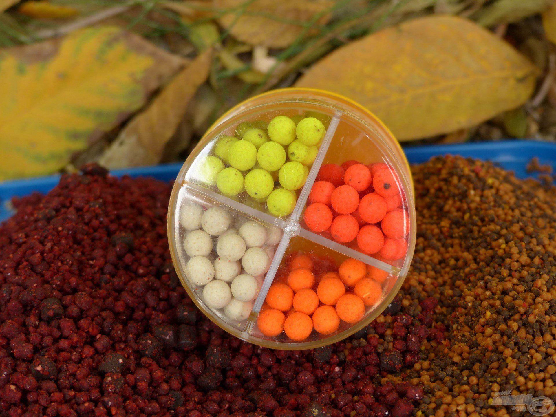 … a négy különböző szín és íz közül valamelyik garantáltan működik