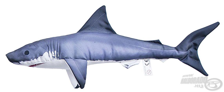 Az óriás cápa gyermekverzióban is elérhető, ennek mérete mindössze 50 cm