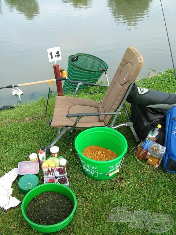 Horgászhely: minden kéznél!