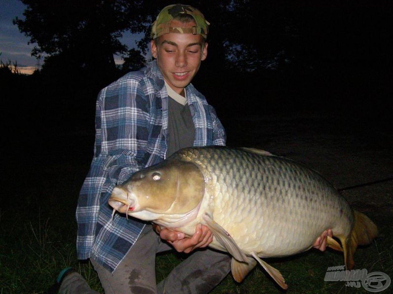 Örök emlék! Hihetetlen boldogság! 18,03 kg-os életem hala