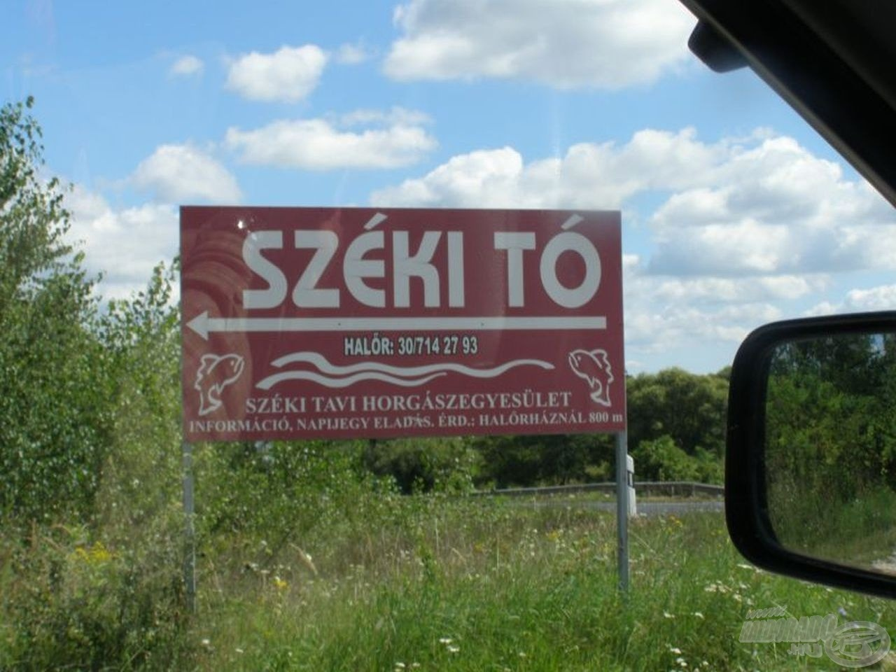 Viszlát, Széki-tó!
