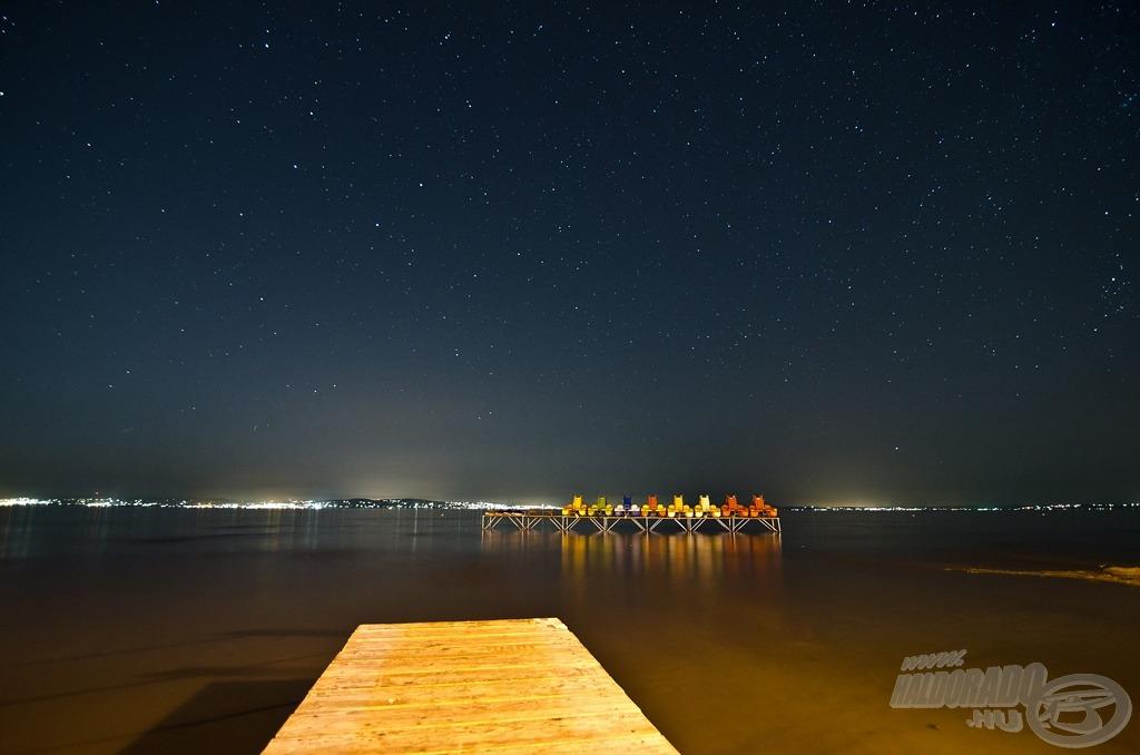 Balatoni éjszaka varázsa