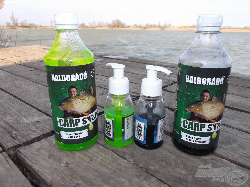 A Carp Syrupot könnyedén használhatjuk, ha átöntjük egy kiürült Fluo Essencia pumpás kis flakonjába