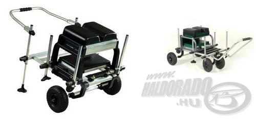A modern ládák kerék-rendszerrel és húzókerettel is szerelhetők, így egyben kiskocsiként is funkcionálnak