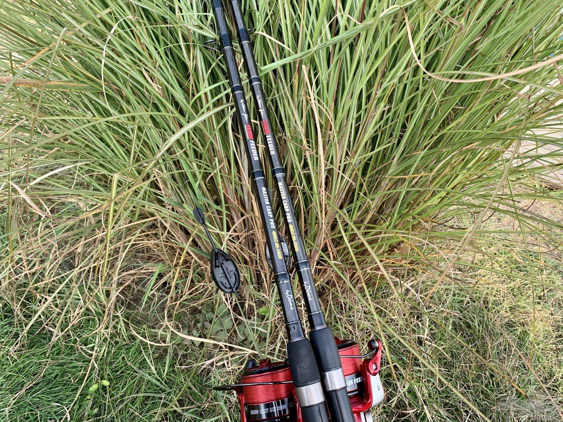 A tó méreteiből adódóan a halakat nagy távolságban kellett keresni, ehhez pedig megfelelően összehangolt felszerelésre volt szükségem…