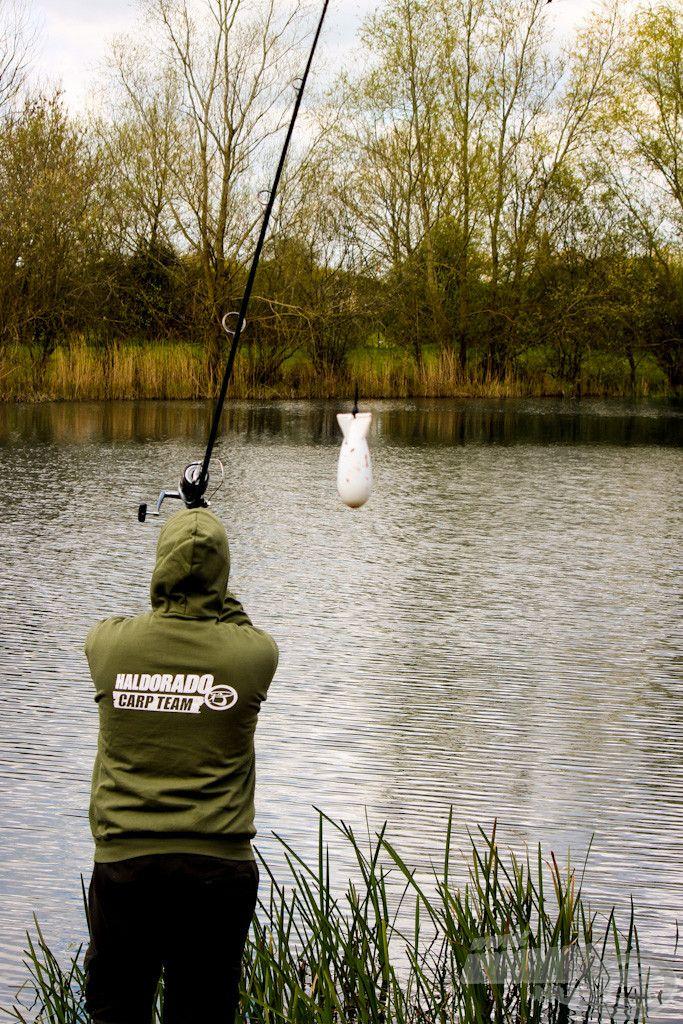 Precíz, pontos horgászatot tesz lehetővé