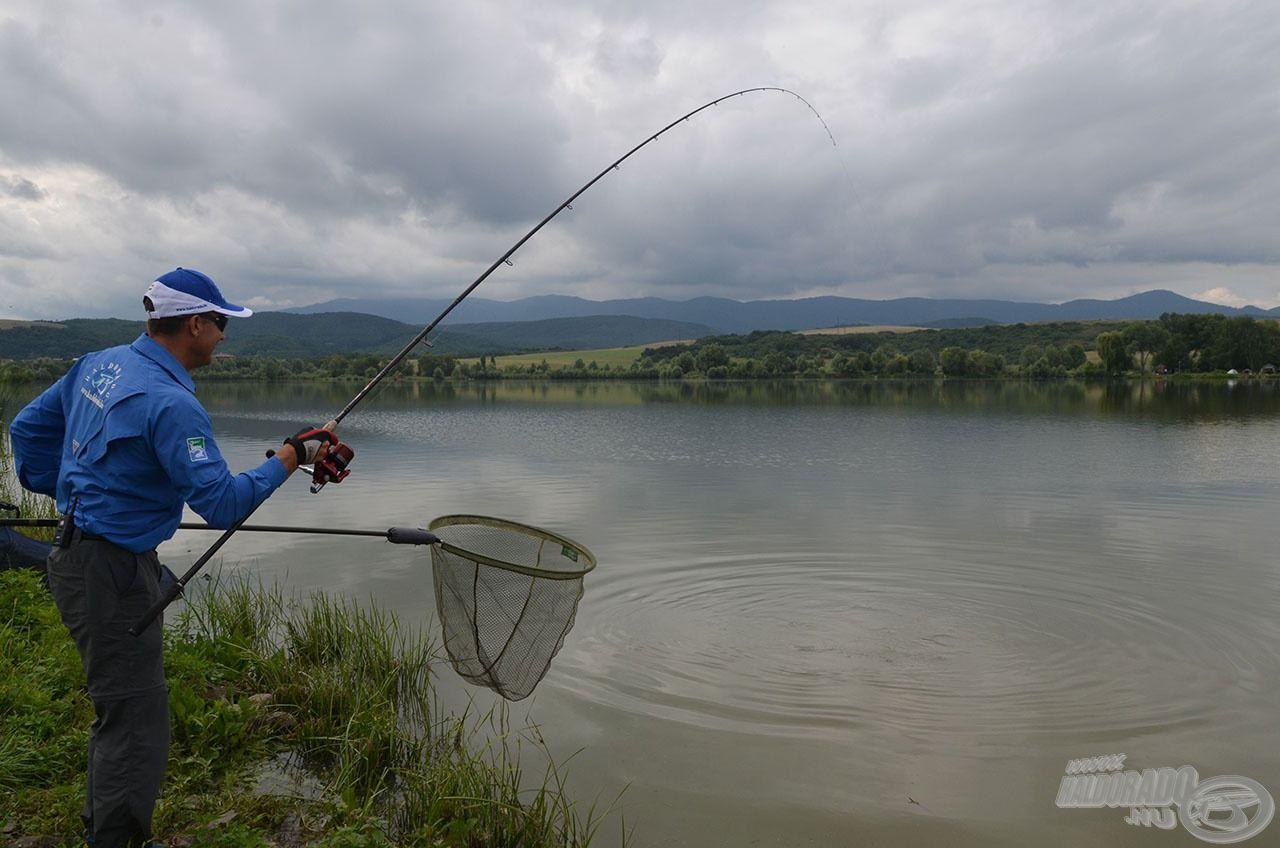 Fárasztás közben igazi rugalmas társ ez a bot, miközben könnyedén lehet vele irányítani a kapitális halakat is