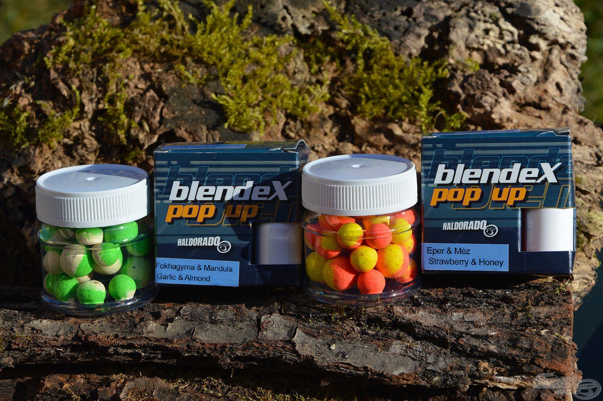 A BlendeX Pop Up csali családból két tavaszi kedvencem az Eper & Méz és a Fokhagyma & Mandula