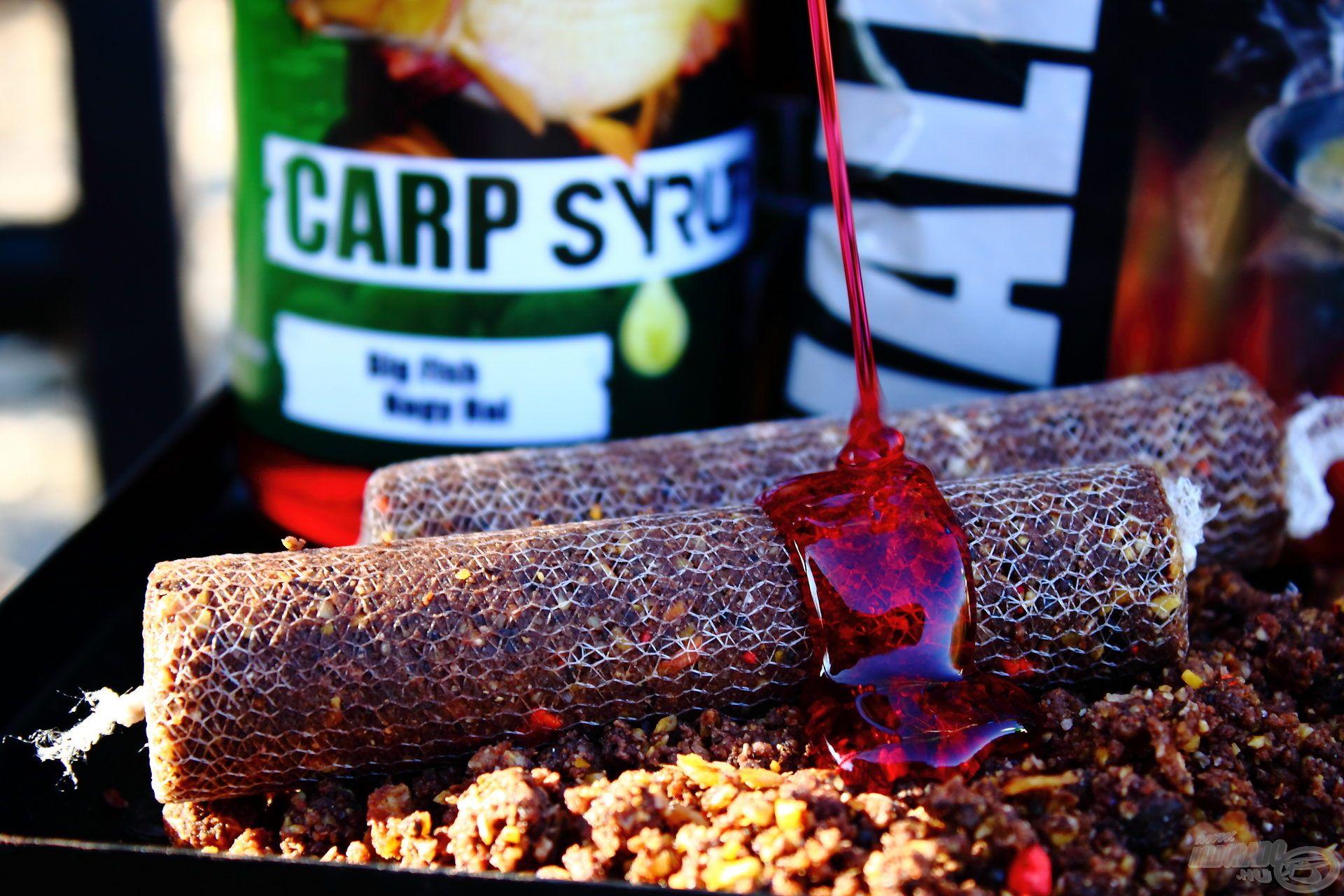 A Carp Syrup segítségével aromázhatjuk utólag, garantáltan nem fogja oldani a háló anyagát