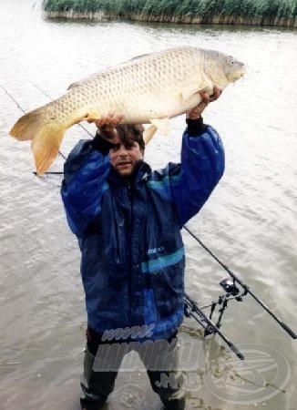 A legnagyobb ponty 16,6 kg súlyú és 88 cm hosszú volt.