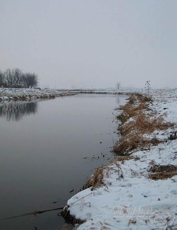 A téli folyó