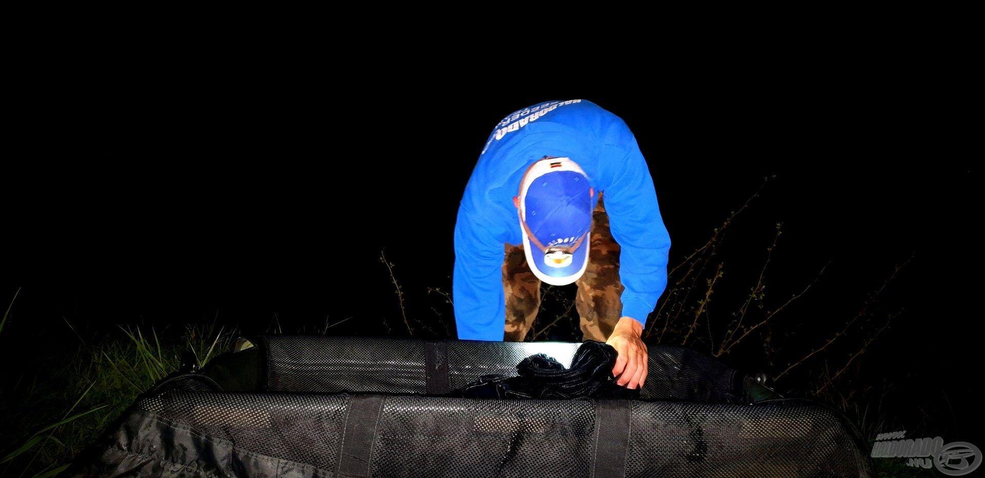 Éjfél után alig néhány perccel kerül bölcsőbe az első hal