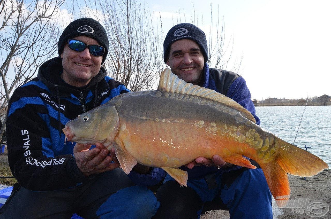 A két feeder specialista a kora tavaszi horgászatokhoz is ad egy-két jó tippet
