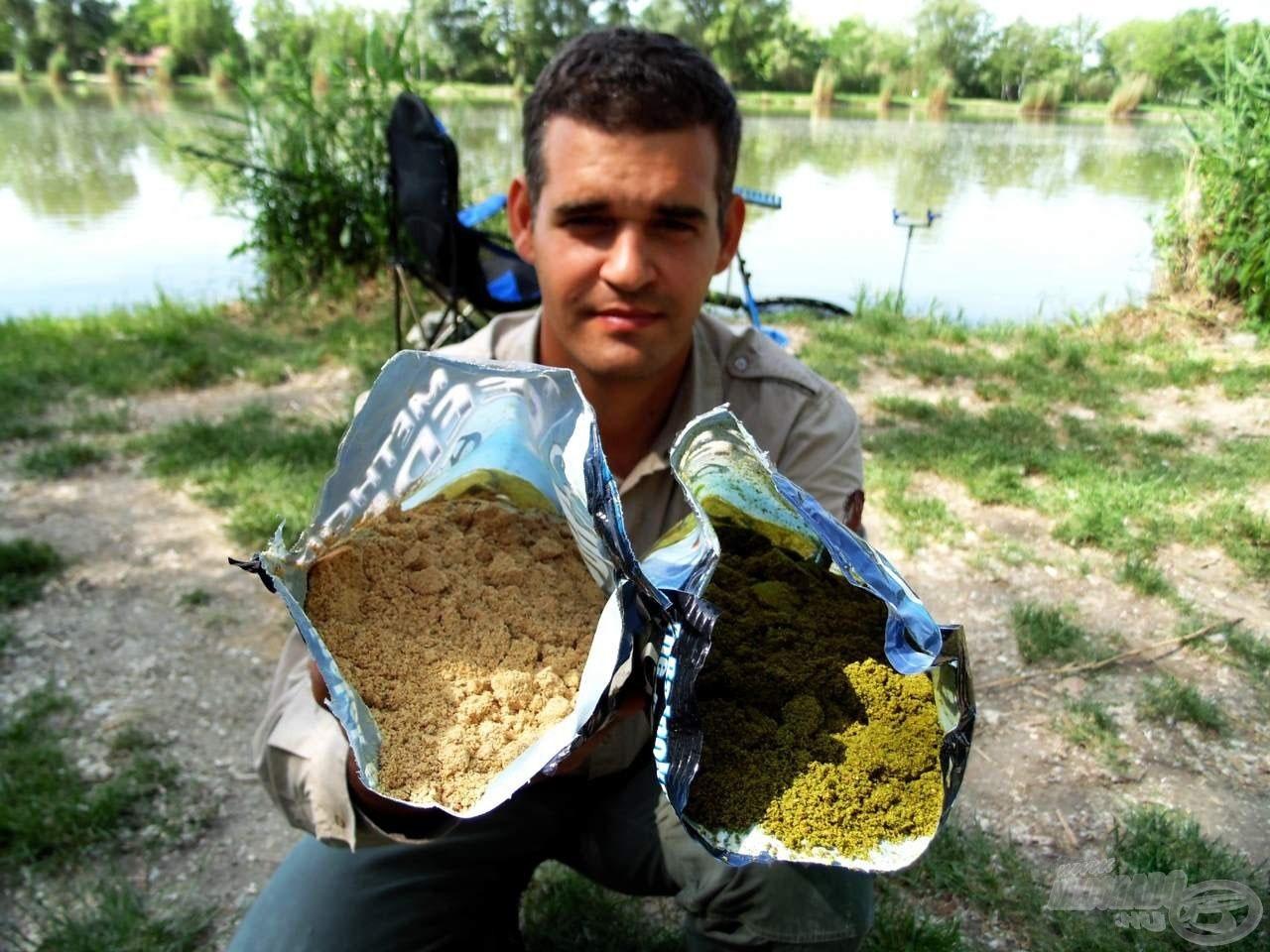 A hallisztes etetőanyagot a methodos horgászatnál használják leggyakrabban