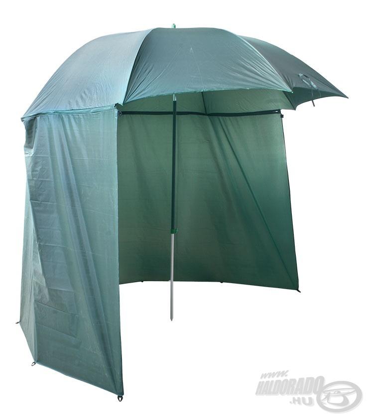 Nemcsak az esőtől, hanem a széltől és naptól is óv az ernyő