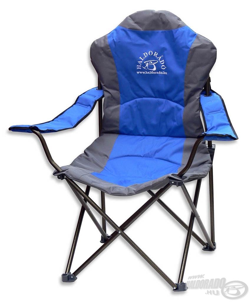 Ez a fotel 130 kg-os terhelhetőséggel rendelkezik