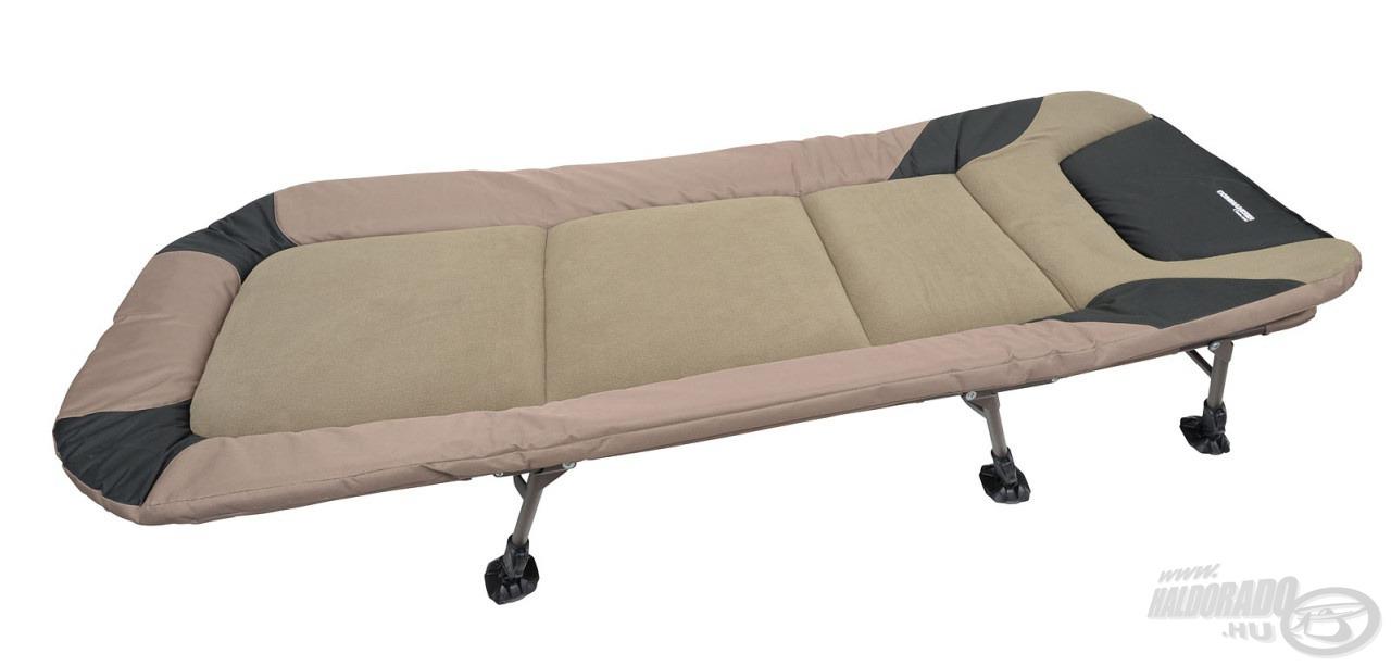 Puha és meleg tapintású anyaggal borított, extra kényelmes ágy