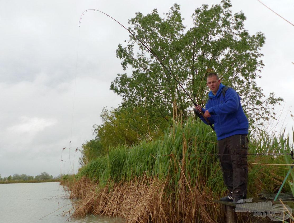 A horgászat az első pillanattól…
