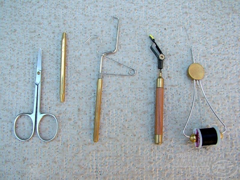 Fly tying tool - műlégykötő szerszám