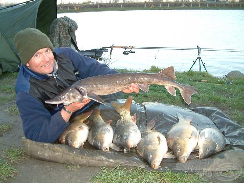 Az év első horgászata a vártnál is jobban sikerült!