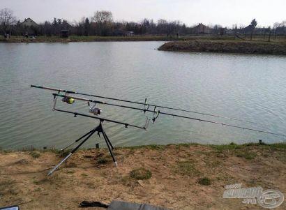 Az év első feederes horgászata