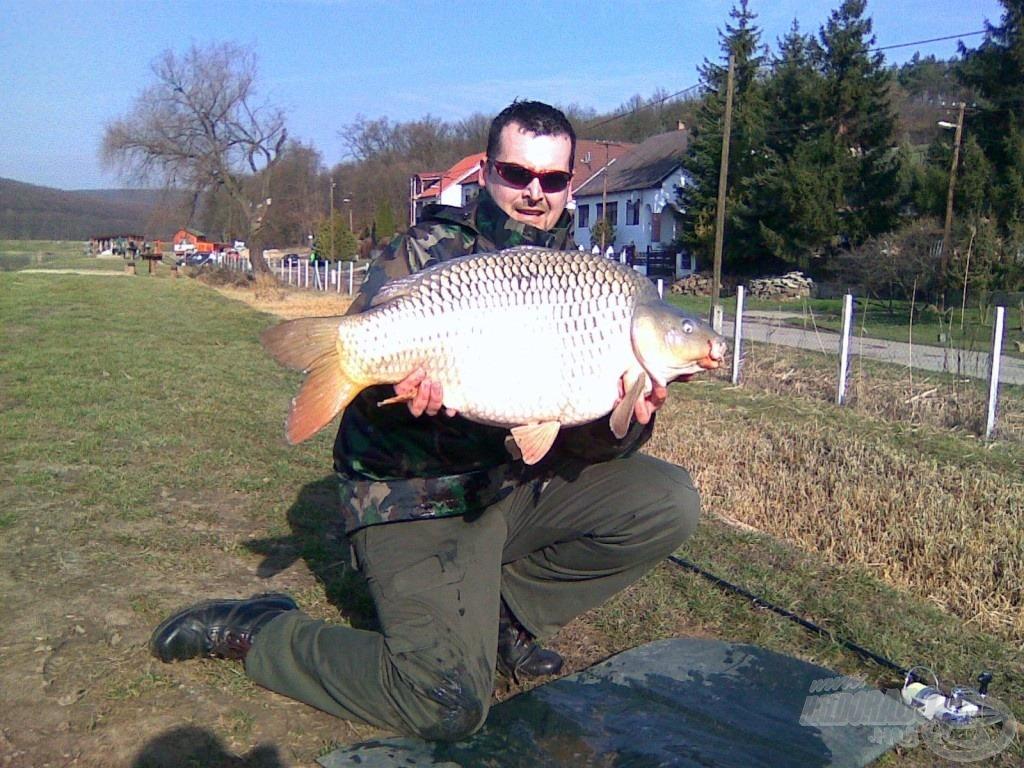 Az év első hala egy 14.400 grammos tőponty volt!!!