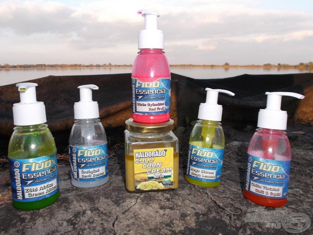 Kukoricás fluo aromák, amik tökéletesen harmonizálnak a bemutatott keverékekkel