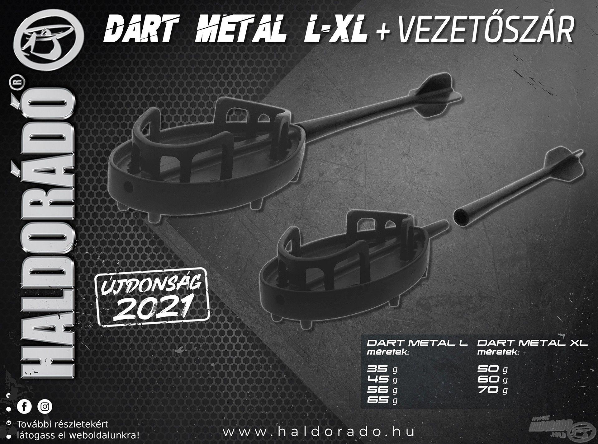 Haldorádó Dart Metal L-XL