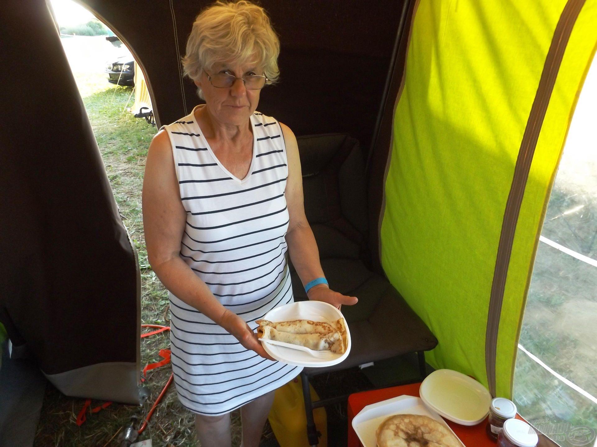 Kriszti Balaton-parti palacsintája az otthoni lekvárral feledhetetlen volt