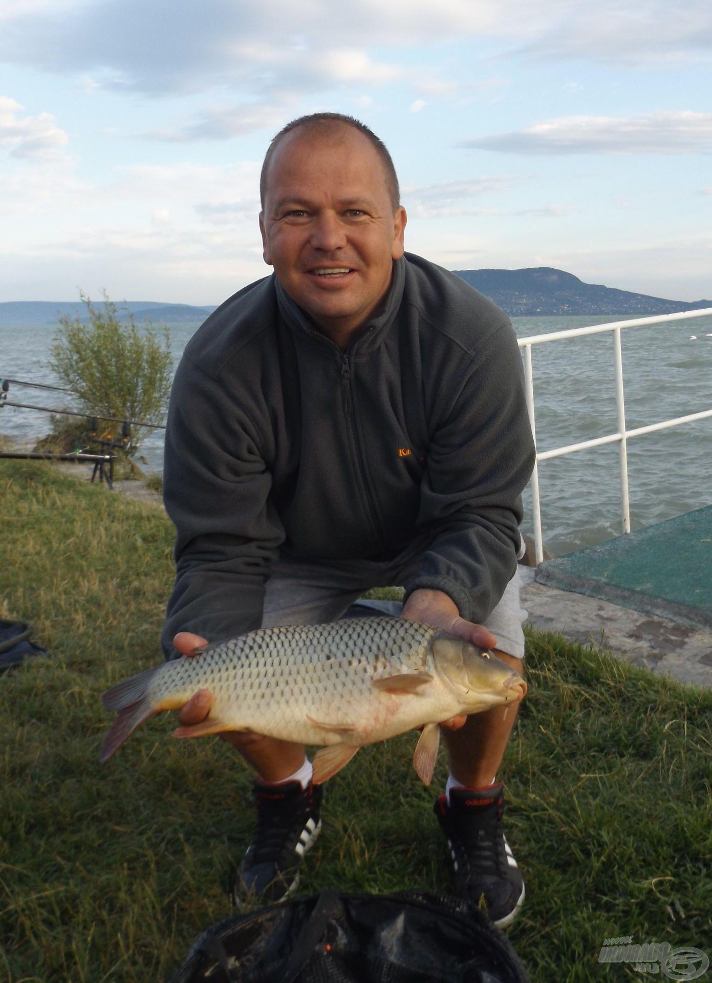 Ornyik Peti és a verseny legnagyobb hala