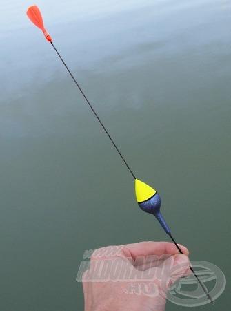 Az igen hosszú, vékony antennával készített úszók az erős áramlásban vagy hullámzásban is használhatók