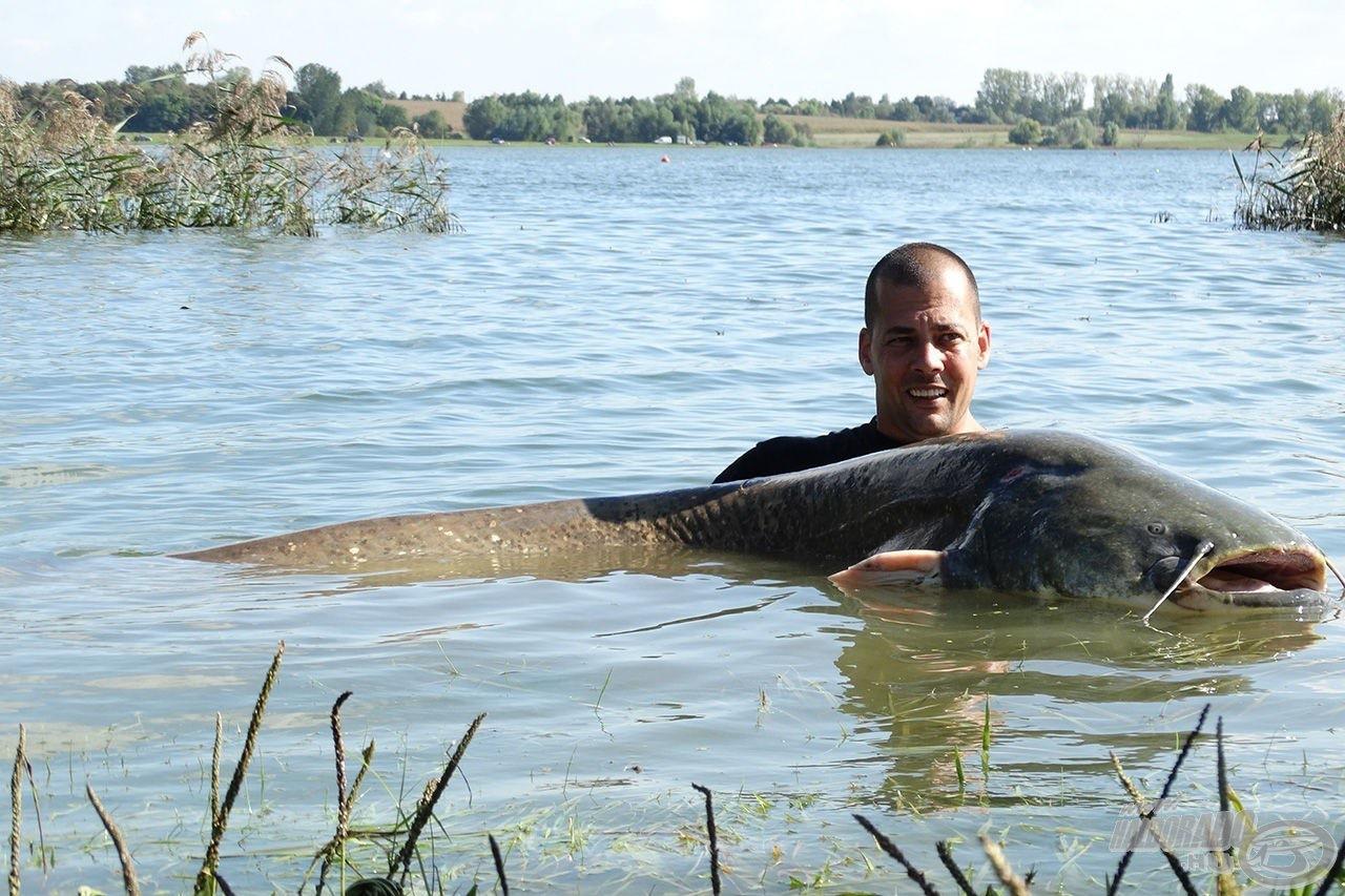 Hazánk legnagyobbra növő halának horgászata óriási élmény