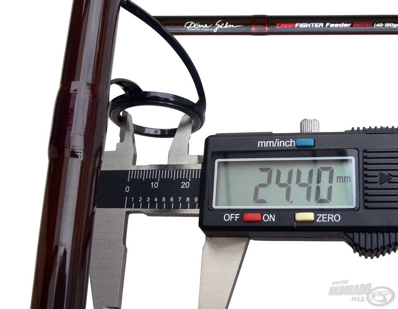 Ez a 390H feederbot keverőgyűrűjének belső mérete