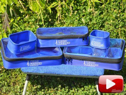 Feederbottal a Dabasi kavicsbánya tavon – Pontyok a mély vízből