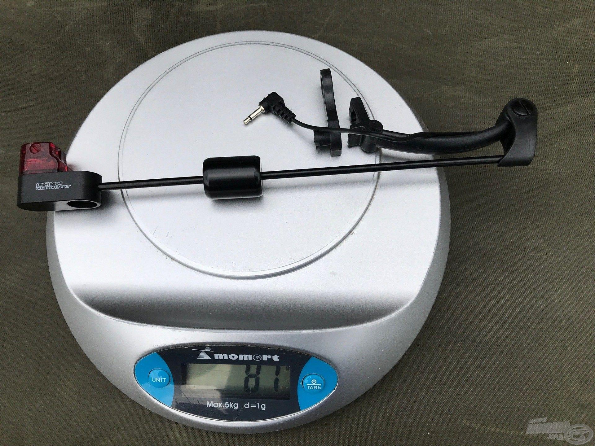A Mojo súlya 81 gramm