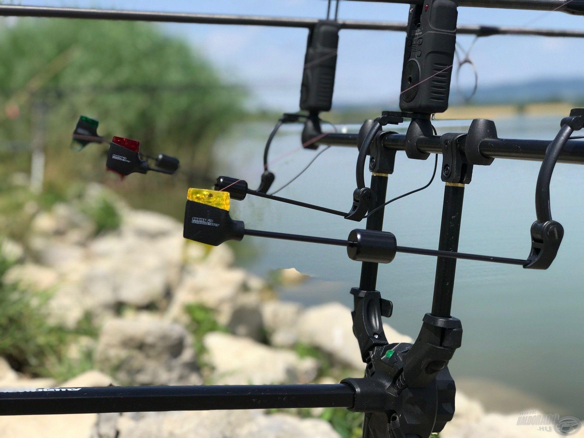 Legutóbbi horgásztúrámon is a V-Head swingerekkel horgásztam, melyeket nagyon megkedveltem