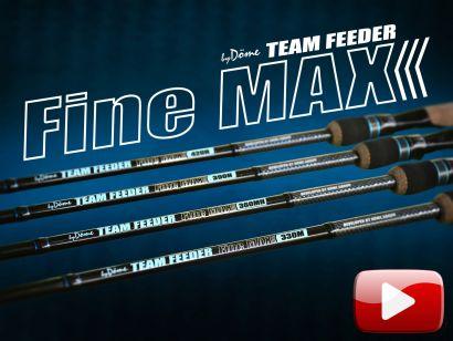 Bemutatom az új By Döme TEAM FEEDER Fine Max feederbotokat