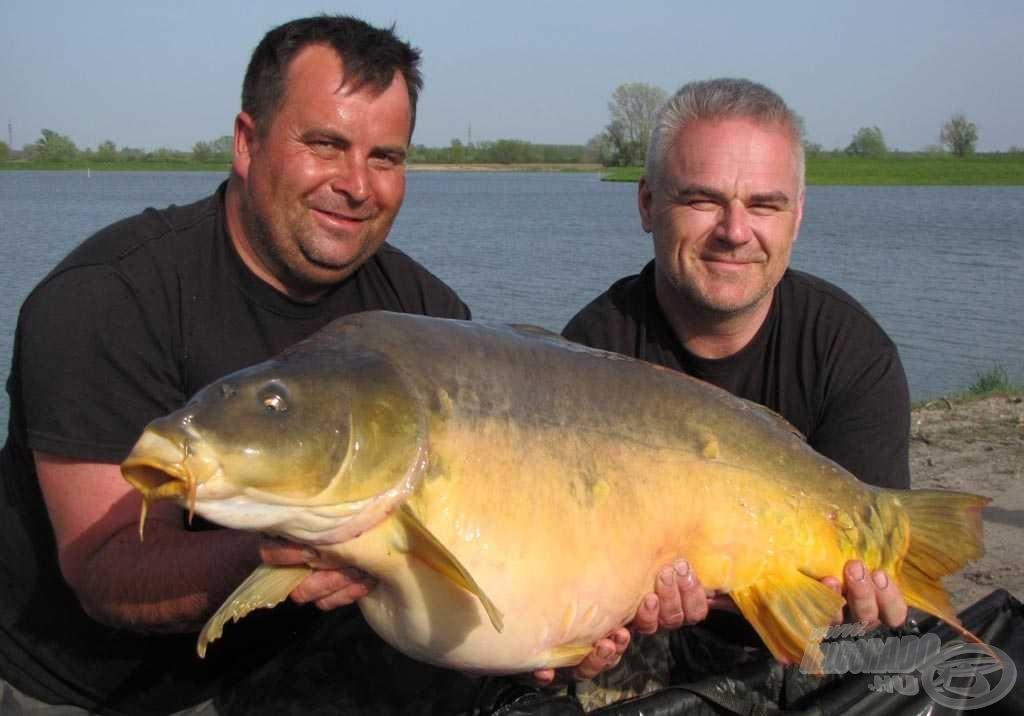 A verseny legnagyobb hala: 15,11 kg