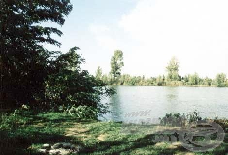 Íme a kiválasztott horgászhely